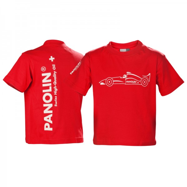 PANOLIN Kinder T-Shirt Rot